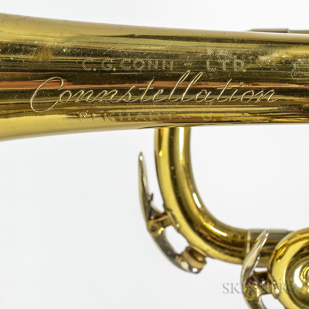 Trumpet, C G  Conn Connstellation 28B, Elkhart, c  1950
