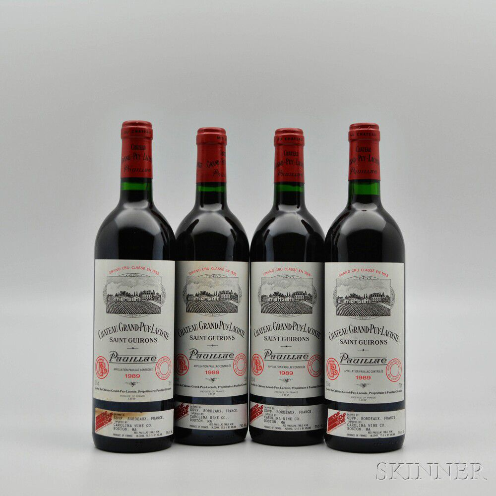 fba207bcd Chateau Grand Puy Lacoste 1989