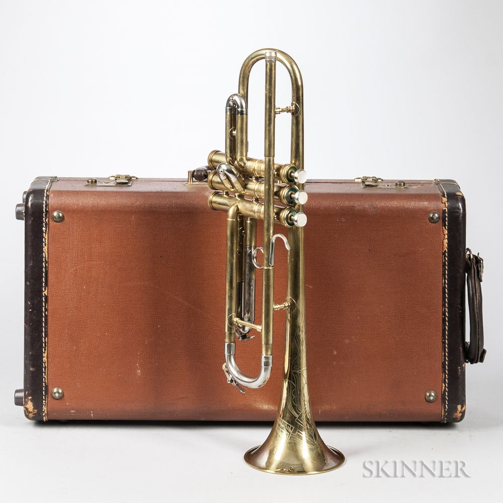 Trumpet, C G  Conn 22B, Elkhart | Sale Number 3062T, Lot