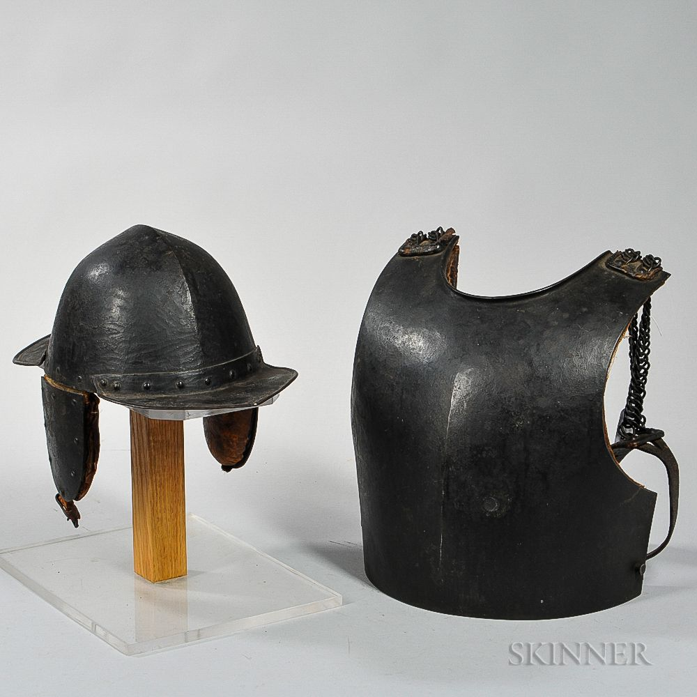 Sapper's Helmet and Breast Plate | Sale Number 3034M, Lot