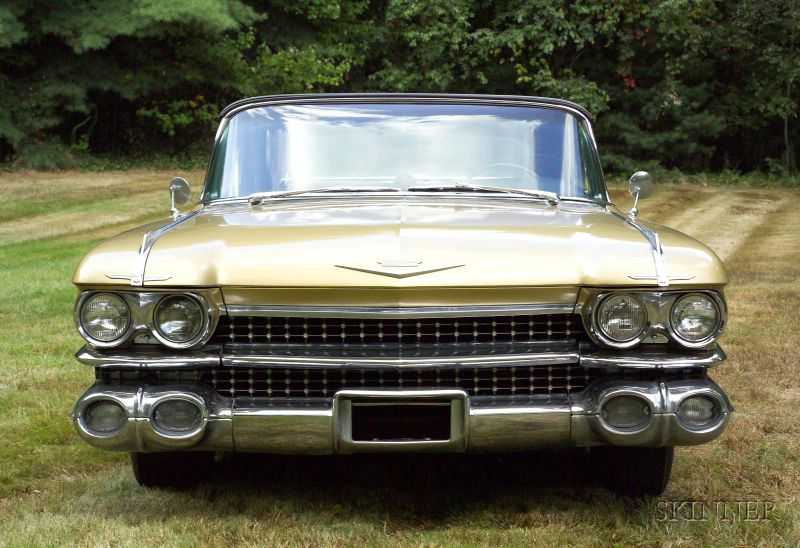 *1959 Cadillac Convertible Series 62 Deville, Vin ...