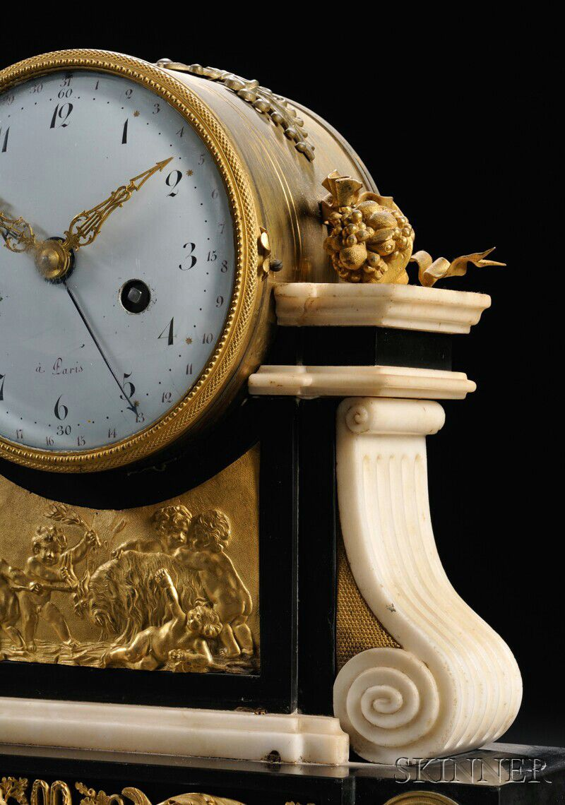 French Neoclassical Mantel Clock Sale Number 2623m Lot