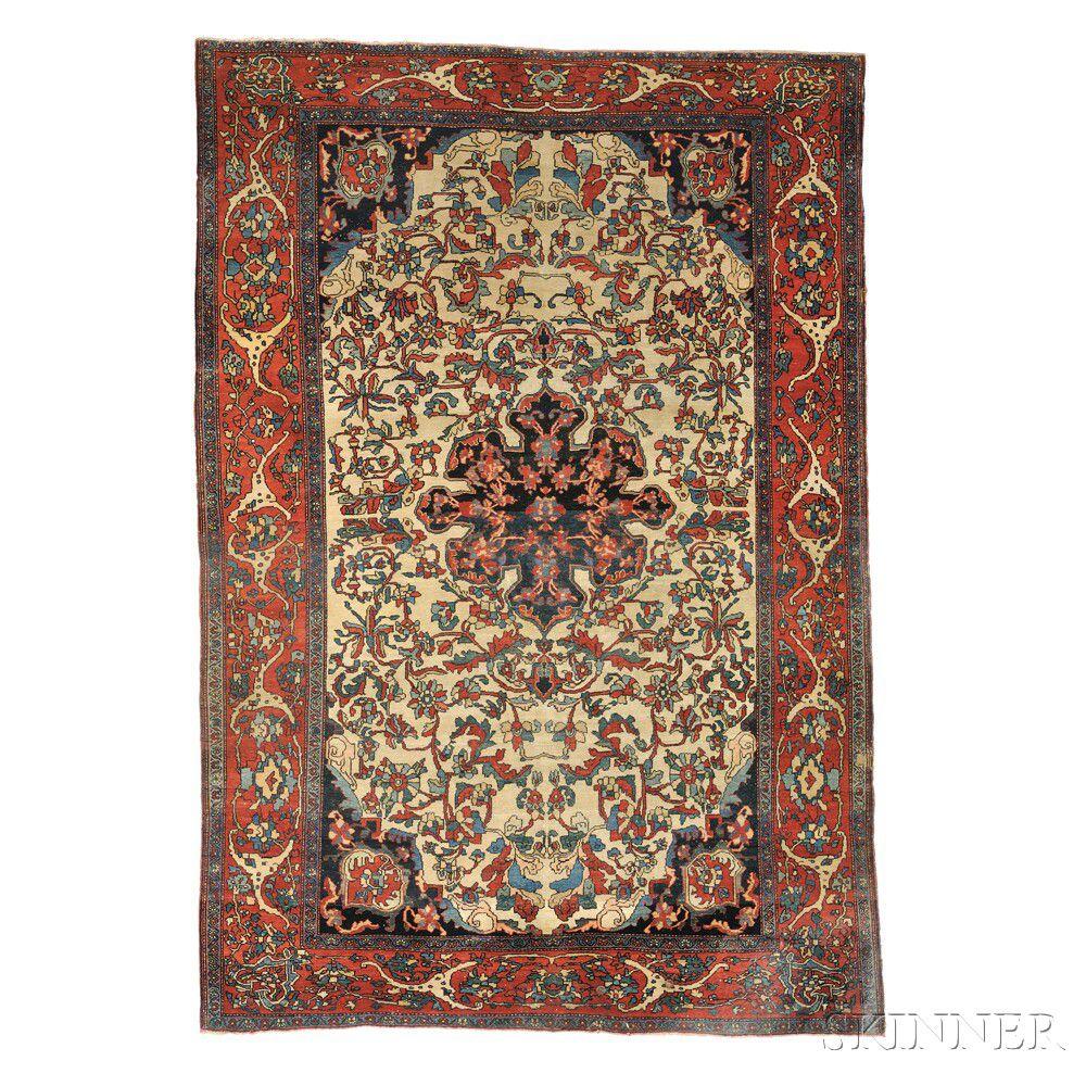 Antique Fereghan Sarouk Persian Rug Sale Number 2884b