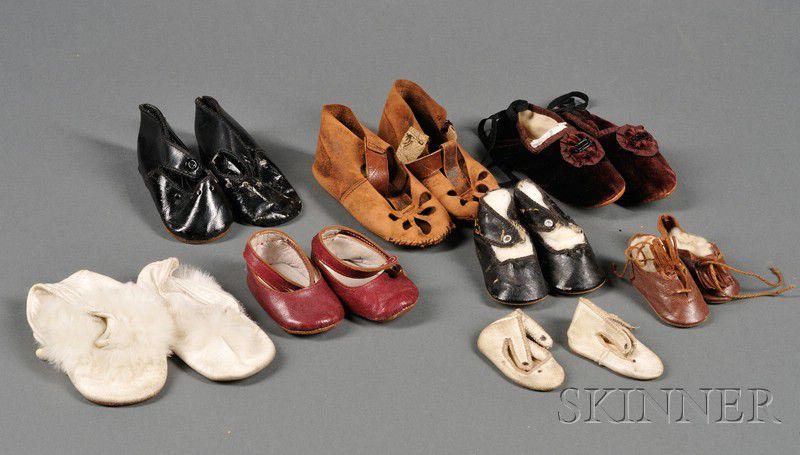 48d9a345dcadb Large Lot of Doll Shoes | Sale Number 2447, Lot Number 762 | Skinner ...