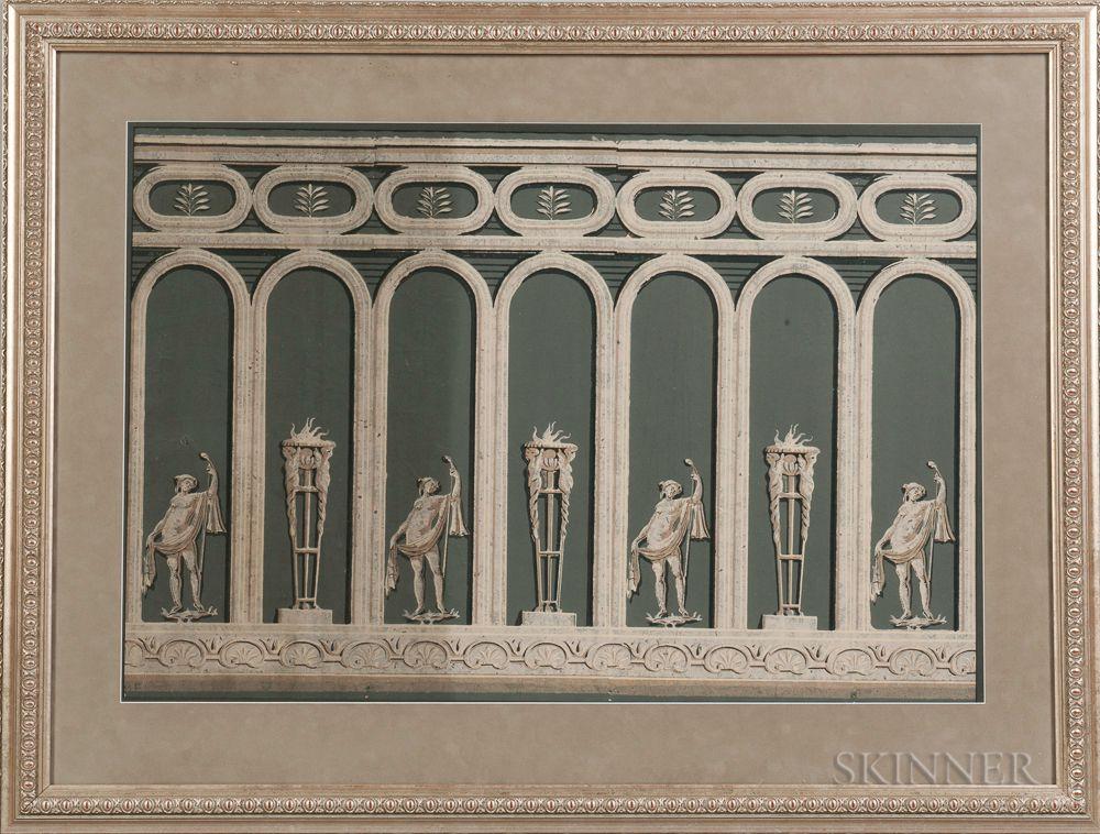 Framed Zuber Wallpaper Panel ...