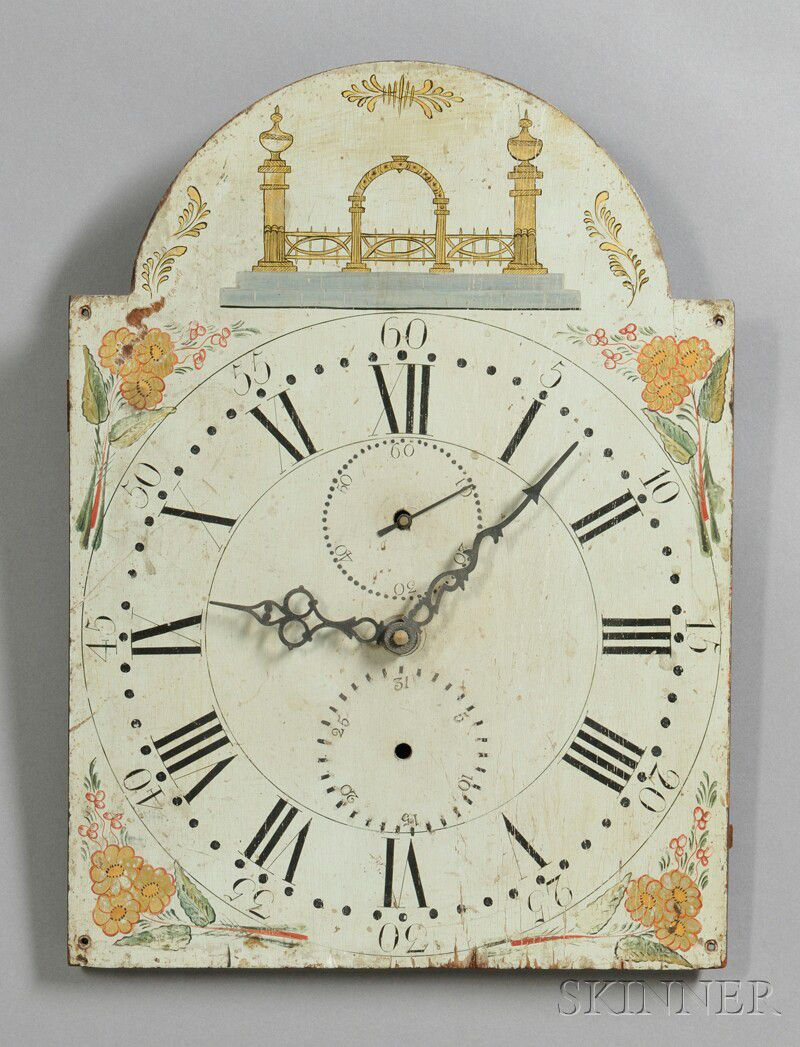 The Art Of The Painted Clock Dial