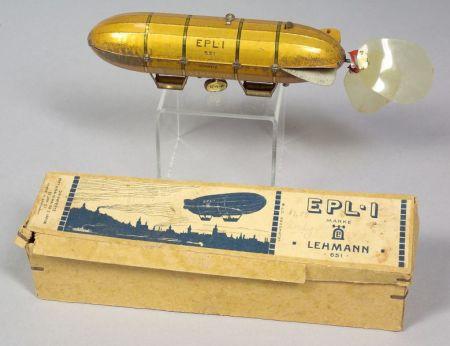 Lehmann Clockwork Airship   Sale Number 2345, Lot Number 918
