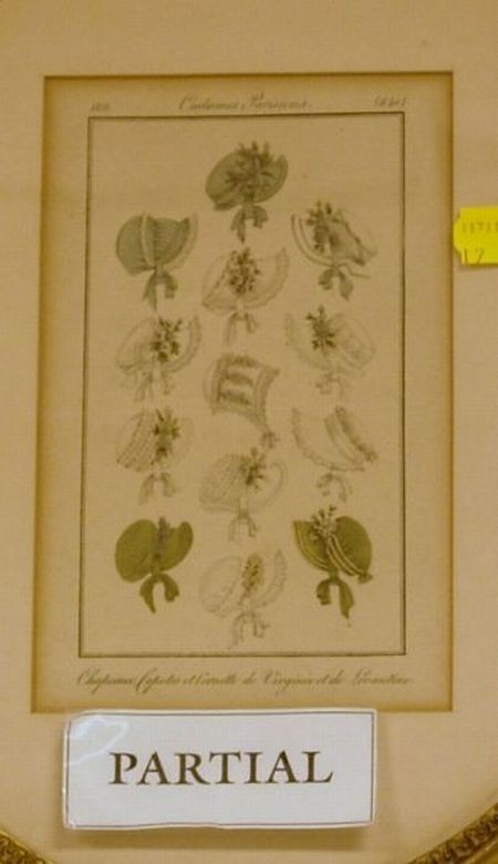 Four Framed 19th Century Lithographs Sale Number 2324