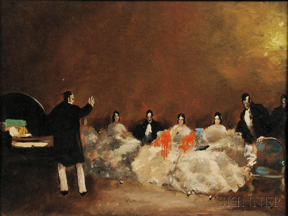 Walter Heimig (German, 1881-1955) The Music Hour | Sale Number 2835B