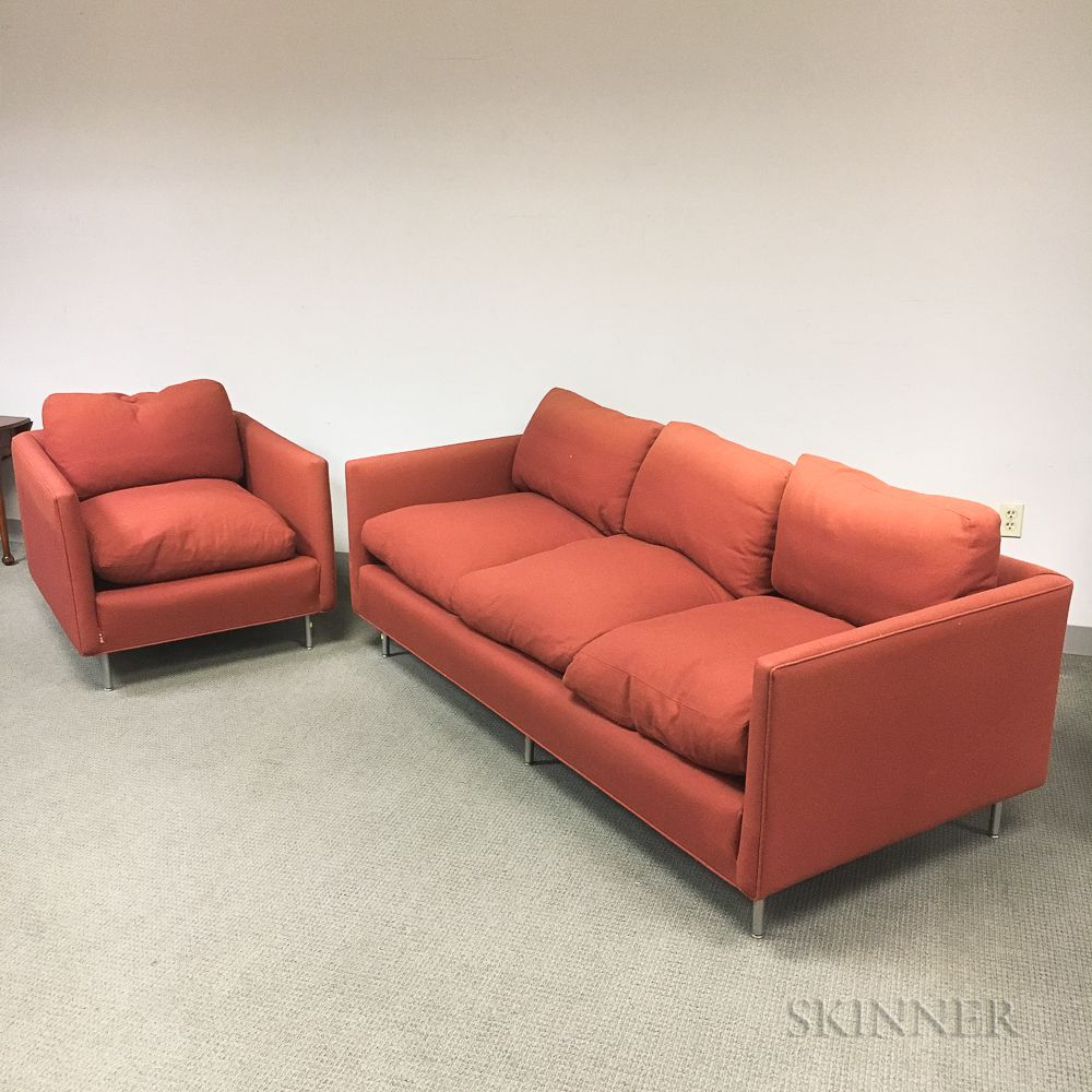 Design Research Sofa and Armchair | Sale Number 3190T, Lot ...