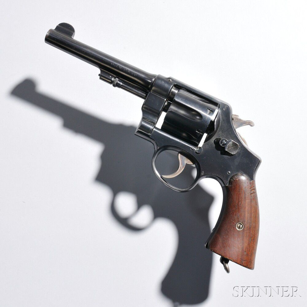 Smith and Wesson Model 1917 Revolver | Sale Number 2856M