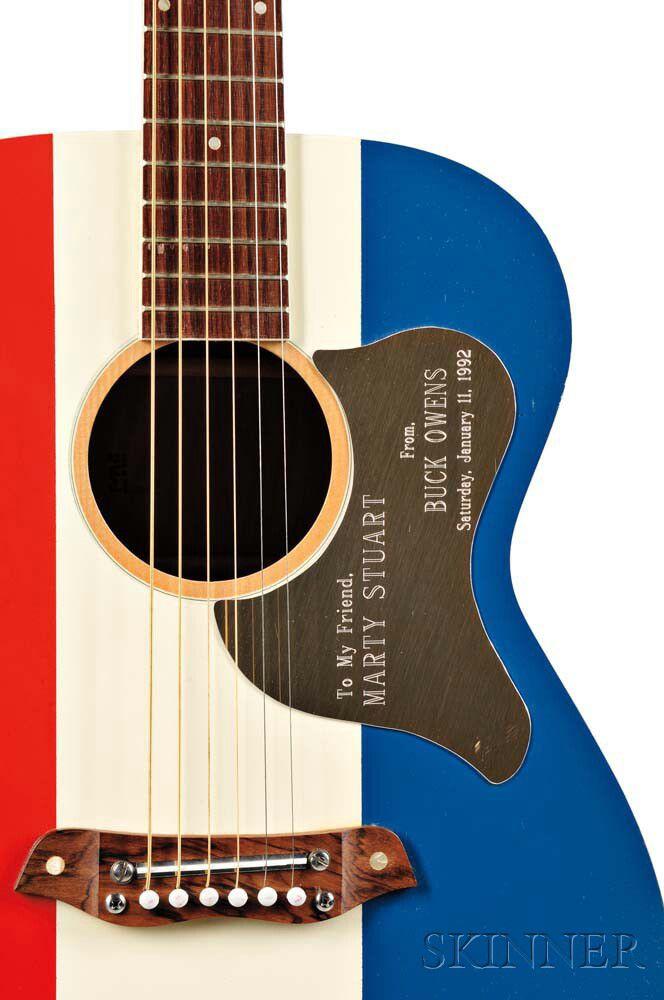Marty Stuart Harmony Buck Owens American Acoustic Guitar 1969