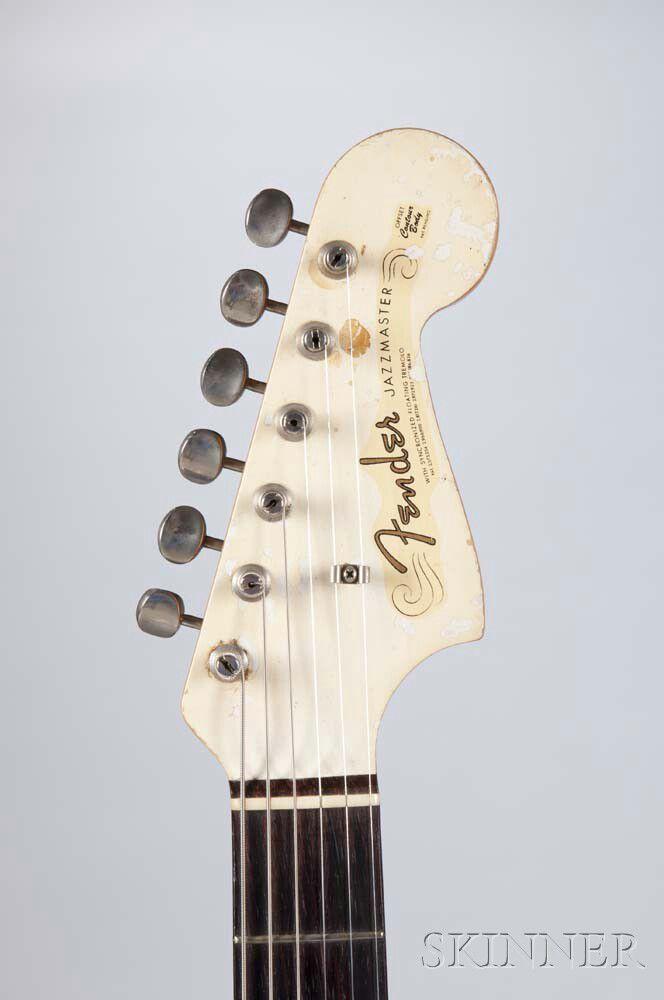 wayne moss fender jazzmaster electric guitar 1964 sale number 2955b lot number 556 skinner. Black Bedroom Furniture Sets. Home Design Ideas