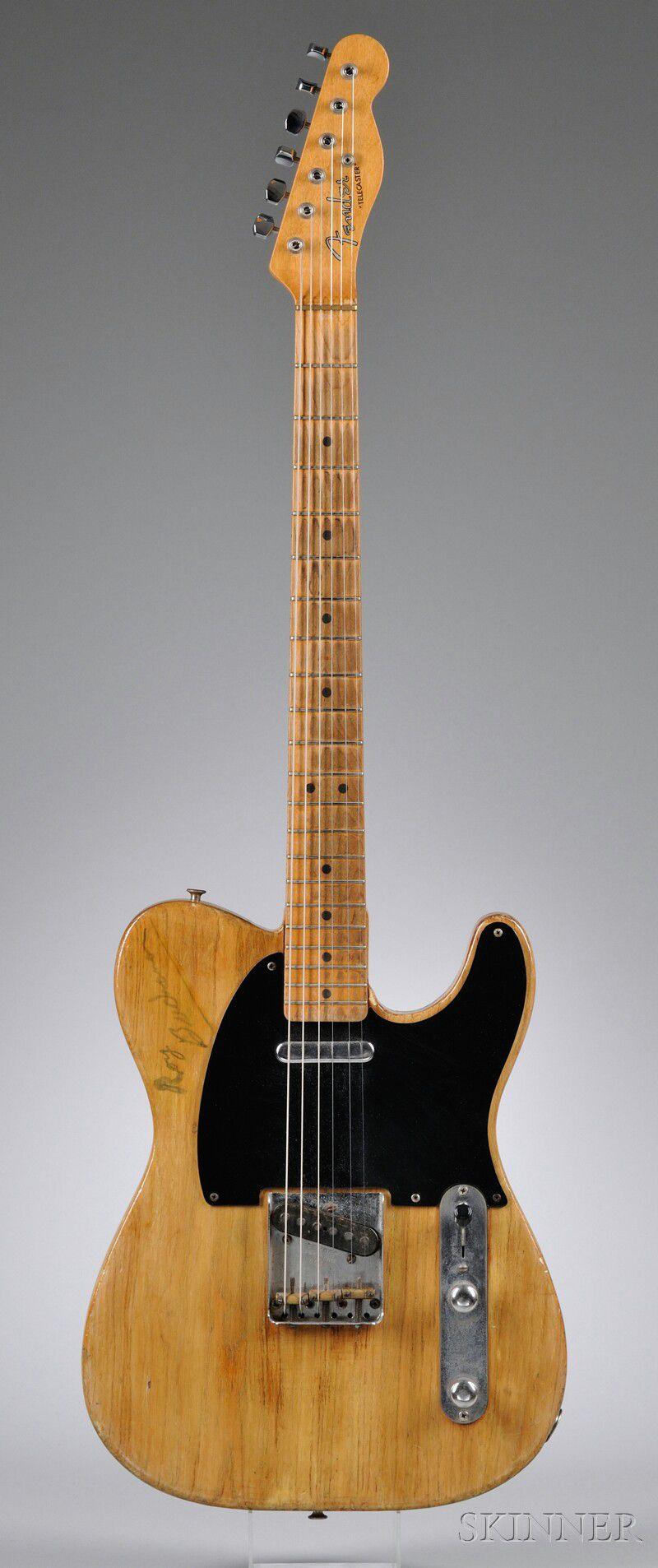 american electric guitar fender electric instruments fullerton 1952 67 model telecaster. Black Bedroom Furniture Sets. Home Design Ideas