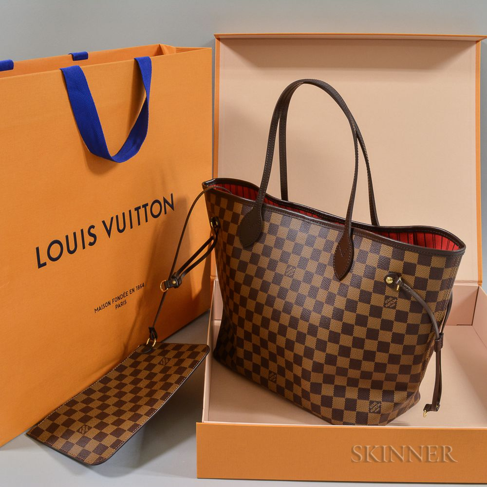 5cc71d9cca3e Louis Vuitton Leather Tote
