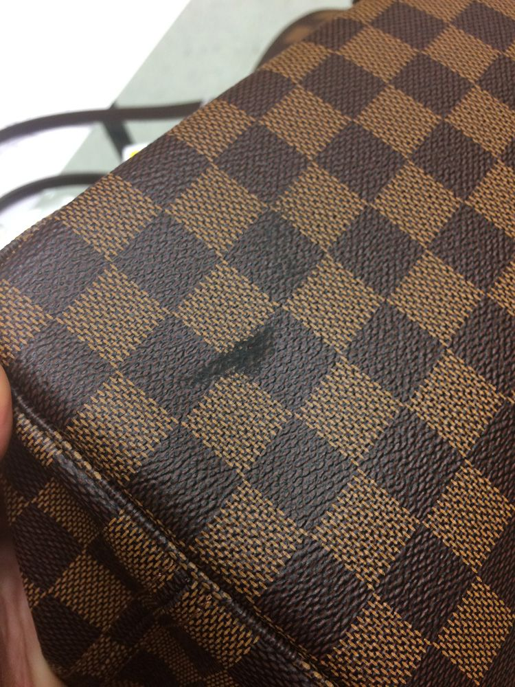 159c3f3a789d Louis Vuitton Leather Tote. Auction  3013T  Lot  1810A  Sold ...