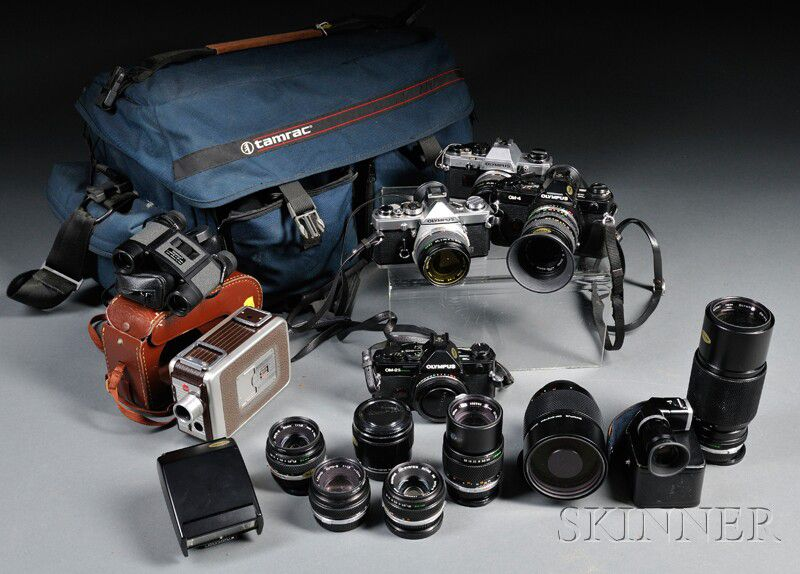 Olympus 35mm Camera Bodies and Lenses | Sale Number 2623M