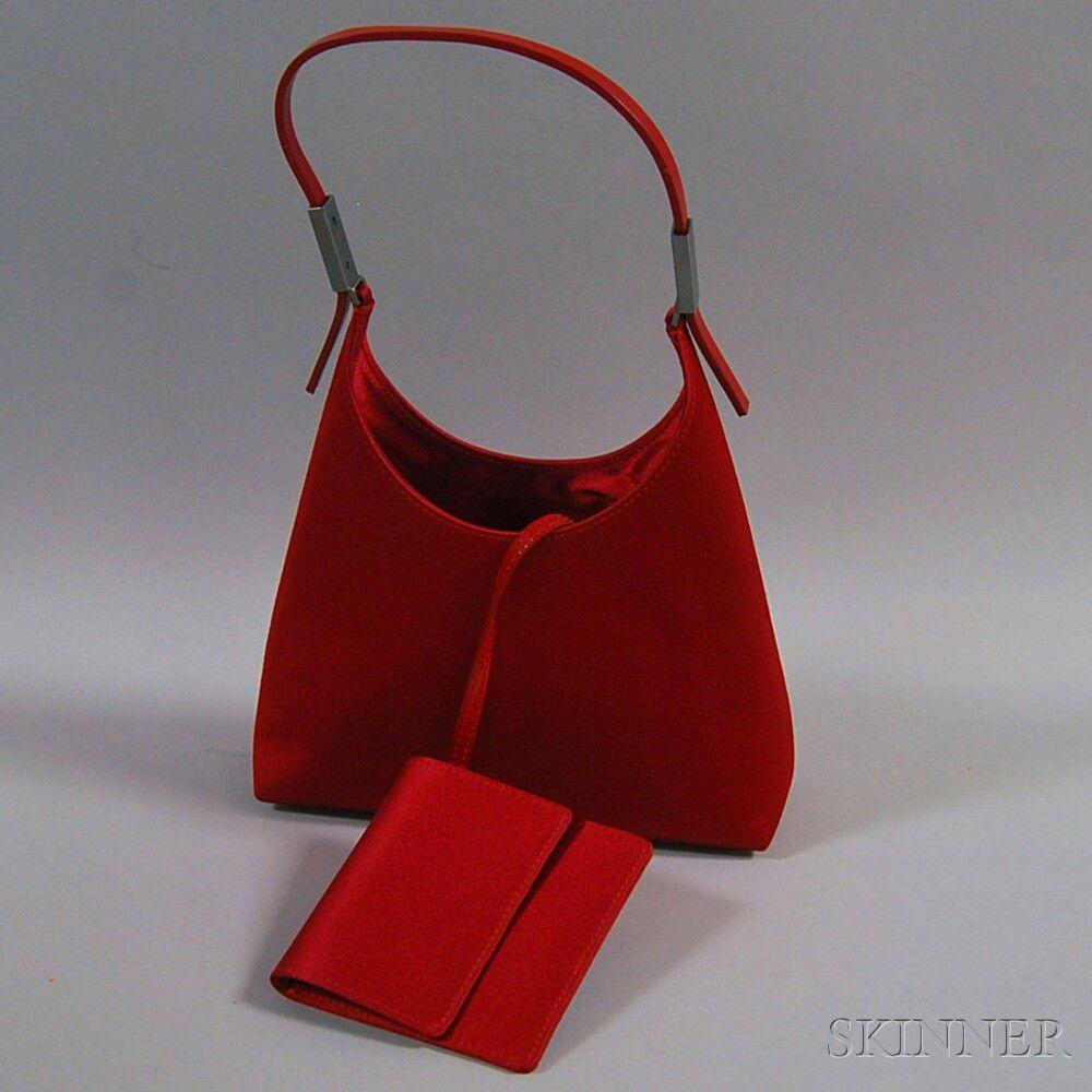 b9b903462c Gucci Red Satin Evening Bag | Sale Number 2672M, Lot Number 552 ...
