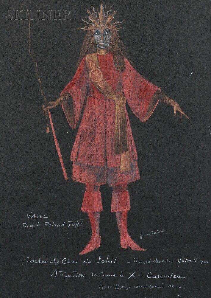 Yvonne Sassinot De Nesle (French, b  1937) Costume Design
