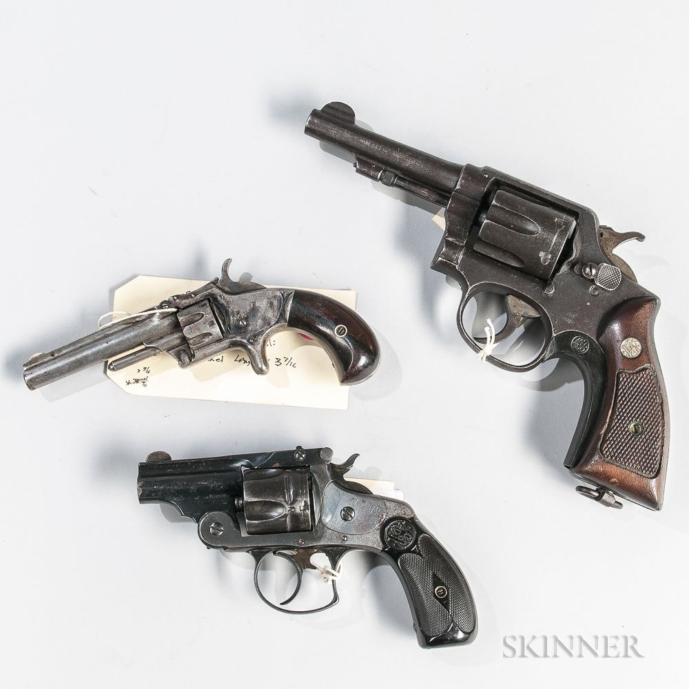 Three Smith & Wesson Revolvers | Sale Number 3033T, Lot Number 1508