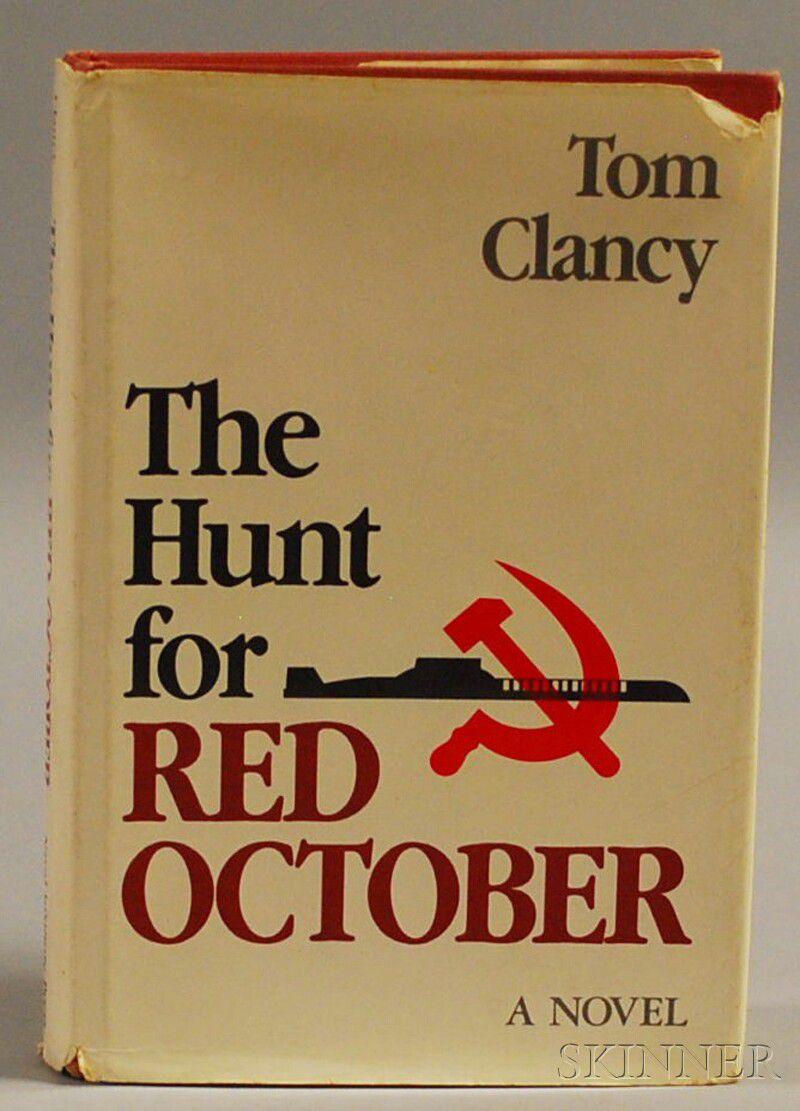 Clancy, Tom (b  1947) The Hunt for Red October | Sale Number