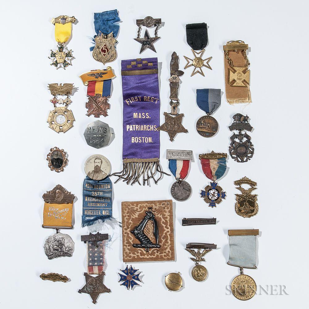 Group of Civil War Veteran's Medals   Sale Number 3033T, Lot
