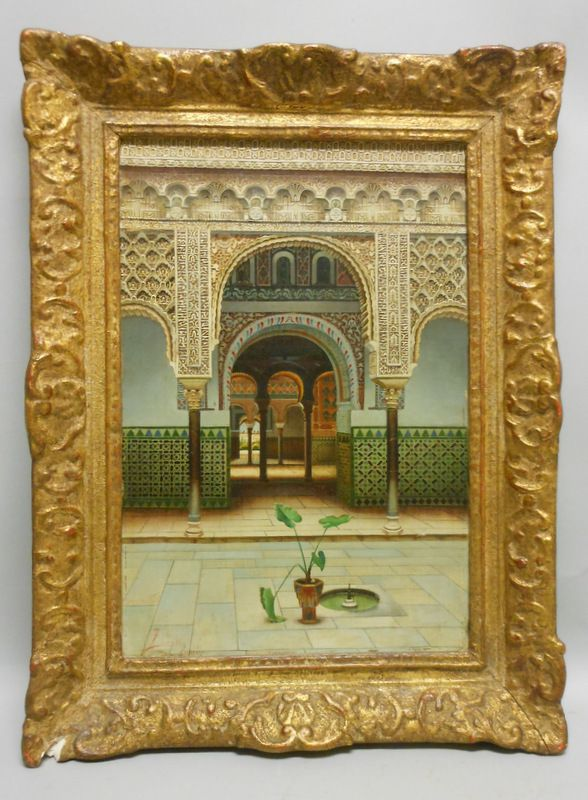 Auctions In My Area >> Fernando Liger Hidalgo (Spanish, 1880-1945) The Alhambra | Sale Number 2930B, Lot Number 232 ...