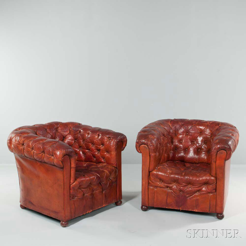 Pair Of Chesterfield Chairs