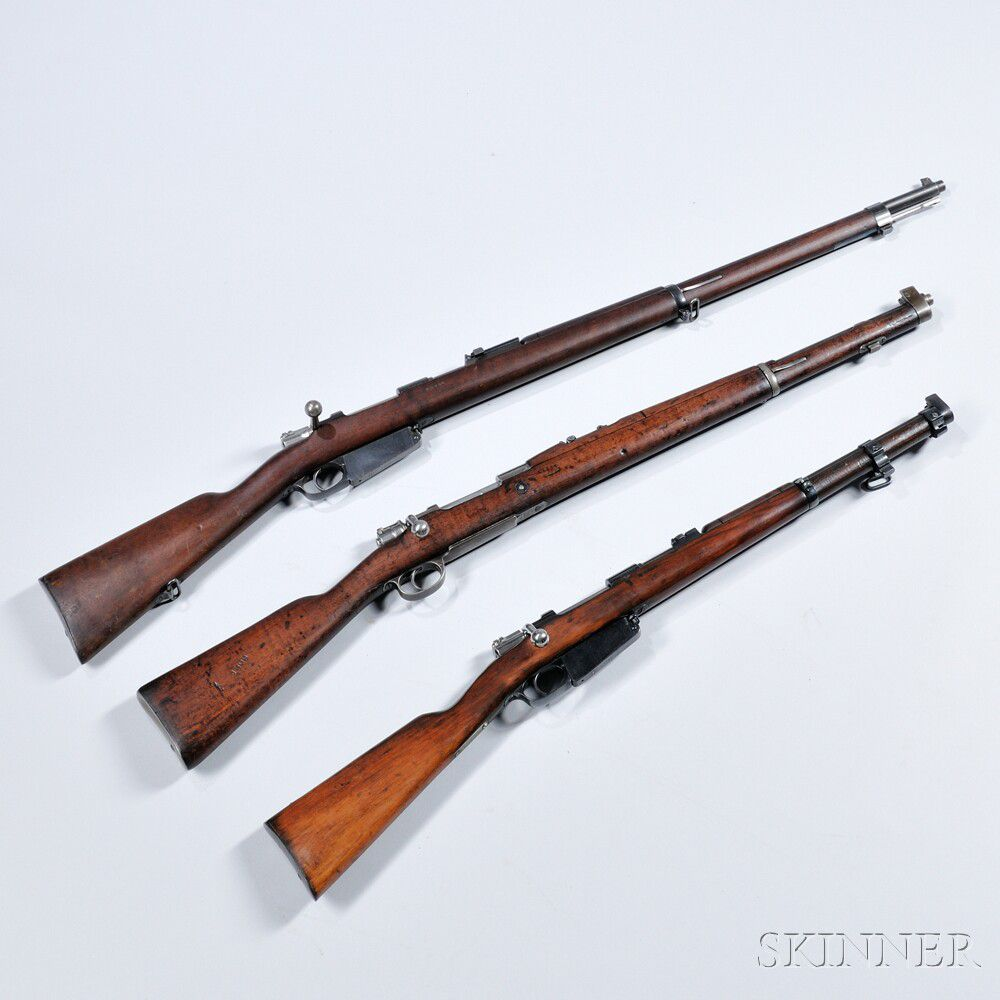 Three Argentinian Mauser Bolt-action Rifles | Sale Number 2946M, Lot