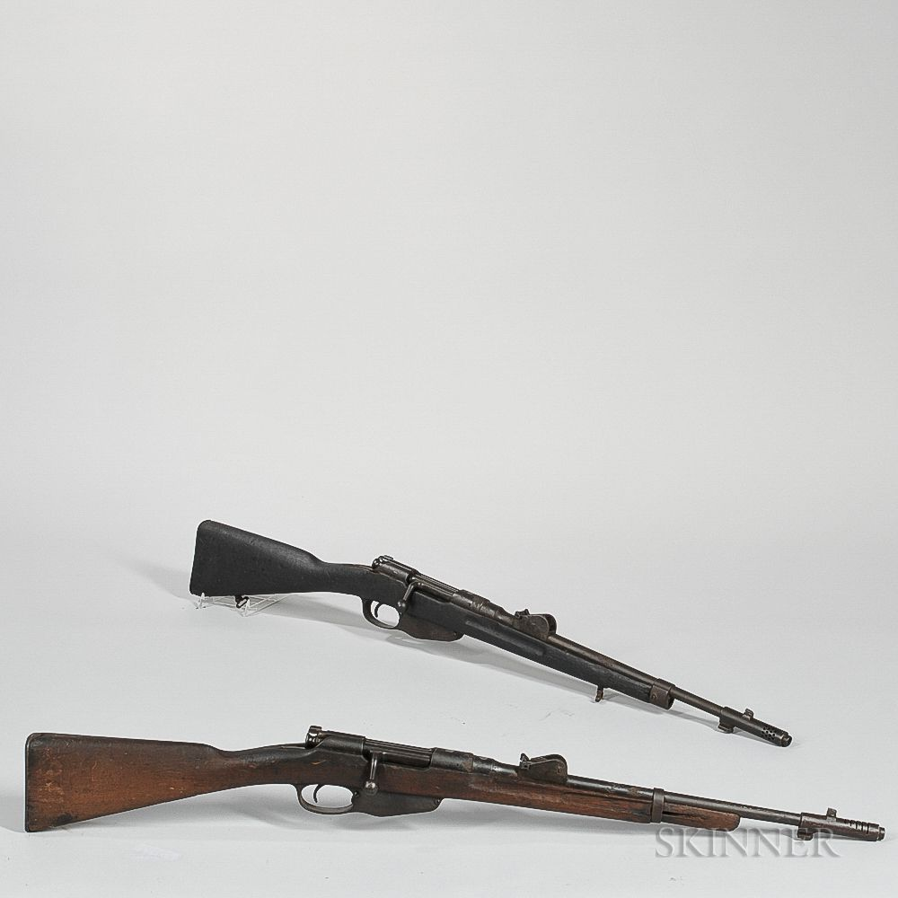 Two Dutch Turn-bolt Mannlicher Model 1895 Rifles | Sale Number 3033T