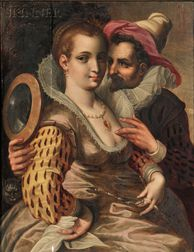 French School, Early 17th Century      Allegory of the Five Senses