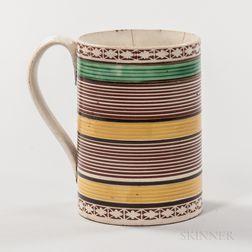 Mocha Creamware Pint Mug