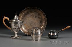 Four Pieces of Georgian Silver