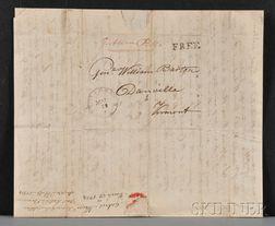 Barton, William (1748-1831) Military Archive, War of 1812: