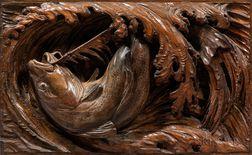 Leander Allen Plummer II (Massachusetts/Maine, 1857-1914)      Cod on the Line