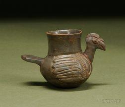 Pre-Columbian Plumbate Turkey Vessel