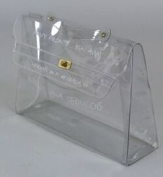 "Transparent ""Kelly"" Bag"