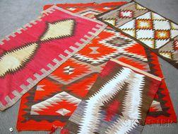 Four Navajo Rugs
