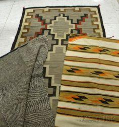 Three Navajo Rugs
