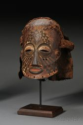 African Carved-Wood Mask