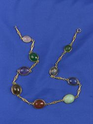 14kt Gold Scarab Necklace