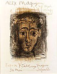 Pablo Picasso (Spanish, 1881-1973)  Alex Maguy