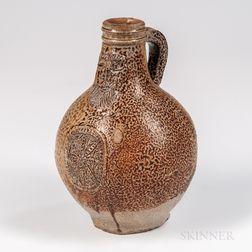 Stoneware Bellarmine Jug