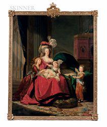 Studio of Elisabeth Louise Vigée Le Brun (French, 1755-1842)      Marie-Antoinette and her Children