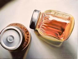 American School, 20th Century      Two Jars.