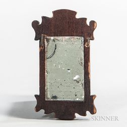 Miniature Chippendale Mirror
