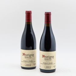 George Roumier Musigny 2002, 2 bottles