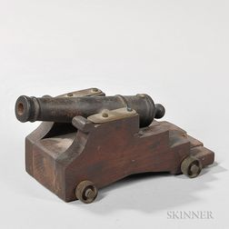 Cast Iron Model Cannon