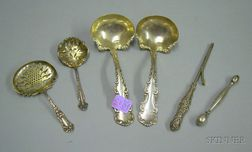 Six Sterling Flatware and Lady's Articles