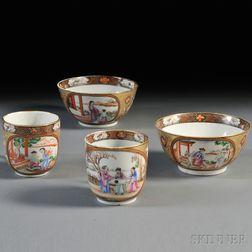 Four Porcelain Export Ware Items